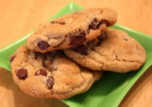 High altitude chocolate chip cookies